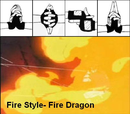 Fire Dragon- Hand Signs by Bogardeth on DeviantArt | Anime ...