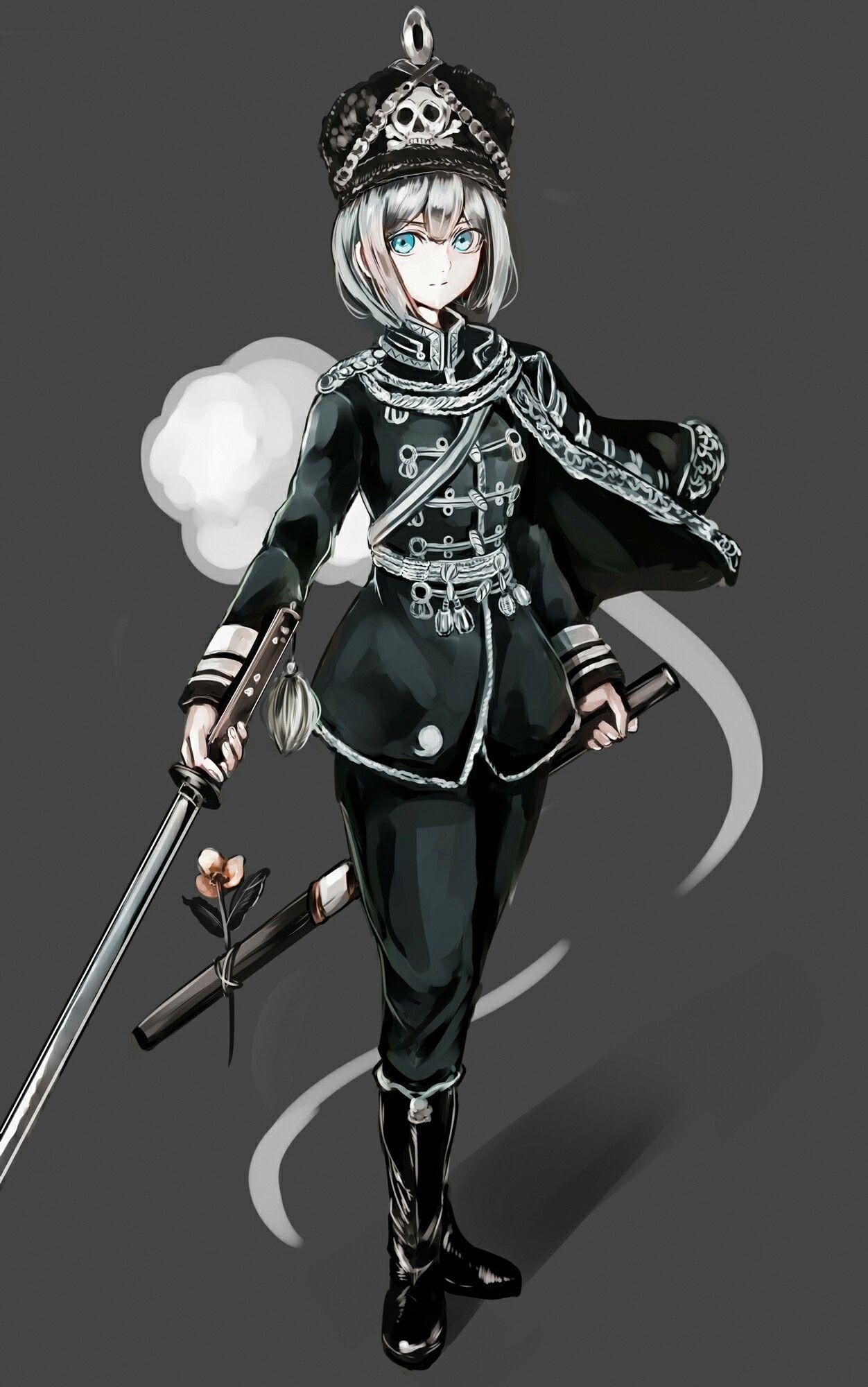 Obey ! 💕 Anime warrior girl, Anime military, Anime warrior