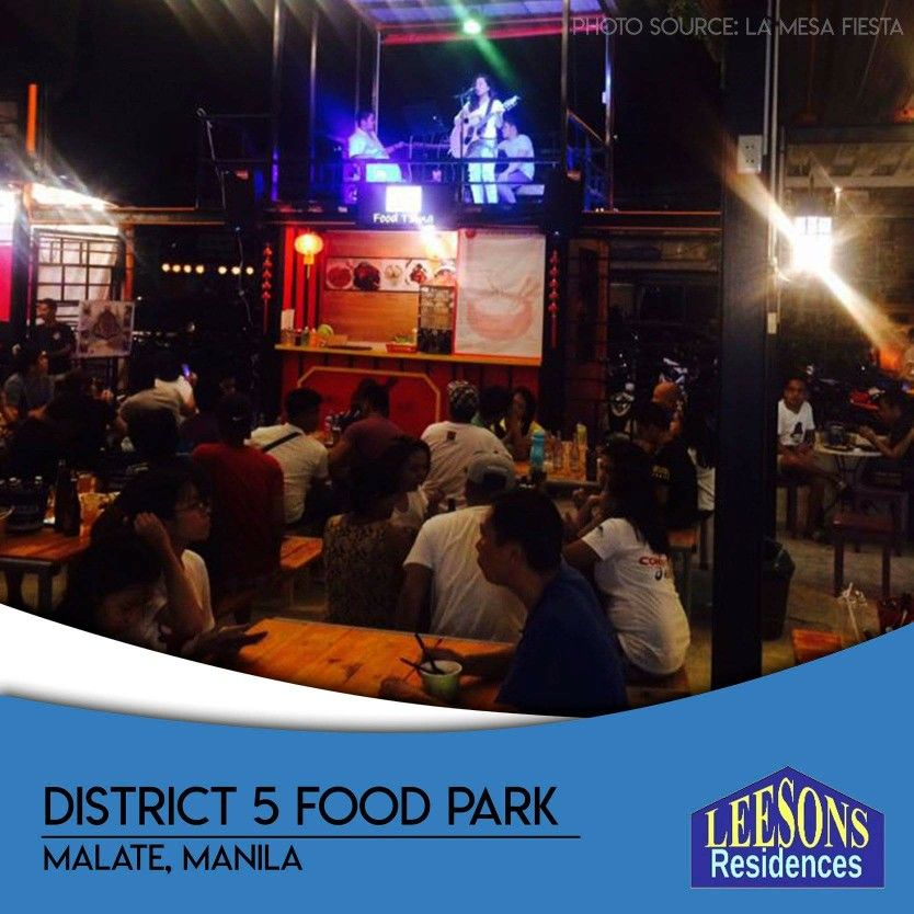 Can't decide where to eat? Why don't you try District 5 Food