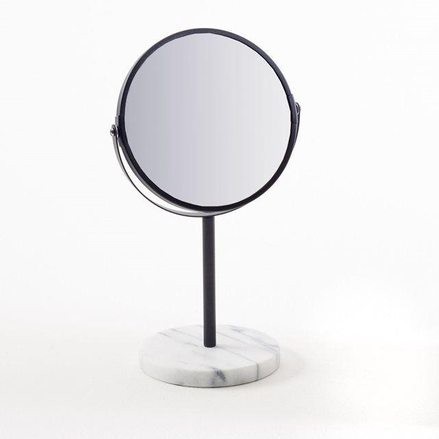 miroir sur pied socle en marbre selias la redoute interieurs salle de bain pinterest. Black Bedroom Furniture Sets. Home Design Ideas