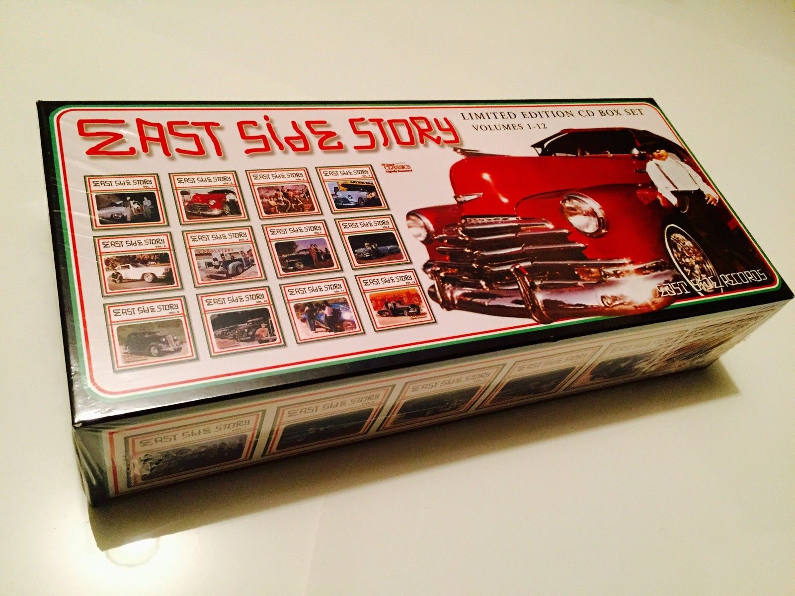 Details About East Side Story Box Set Vol 1 12 By Various Artists