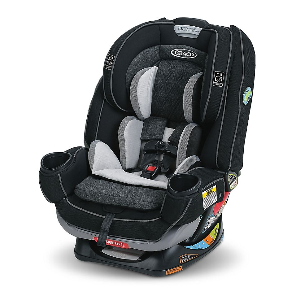 Graco 4Ever Extend2Fit Platinum 4-In-1 Convertible Car ...