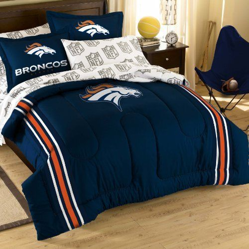 NFL Denver Broncos Bedding Set by Northwest, http://www.amazon.com ...