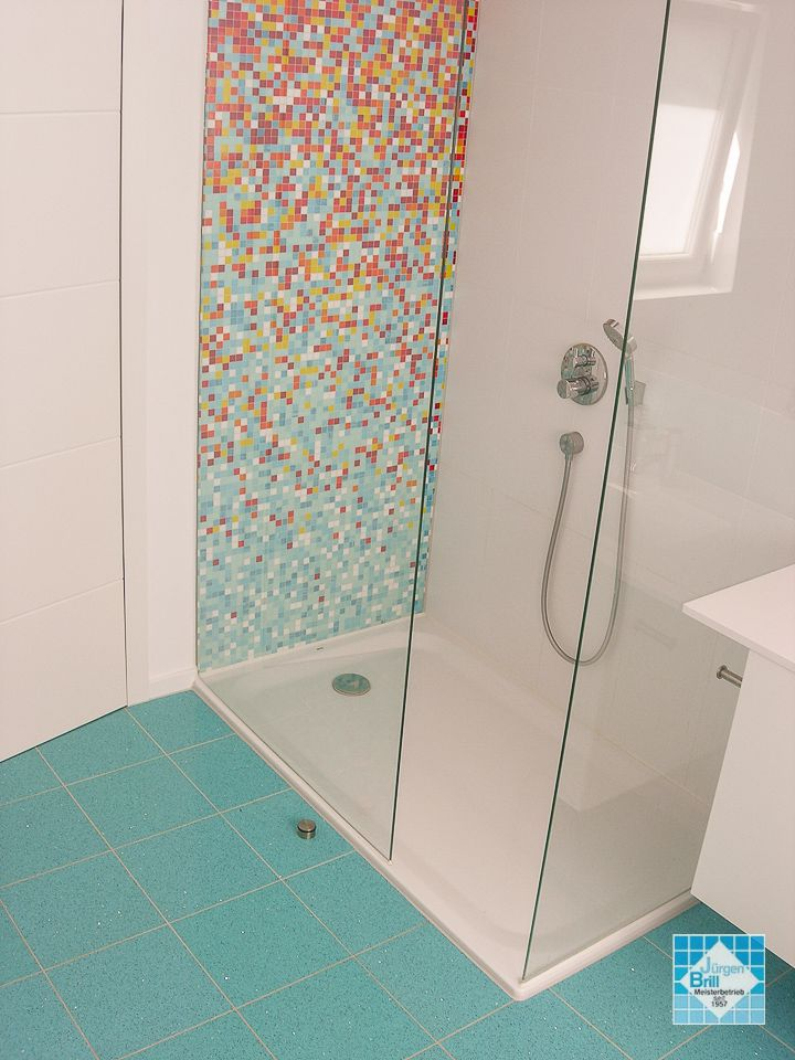 Duschwanne Barrierefrei Versetzt Badezimmer Fliesen Und Wanne