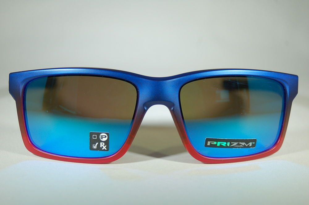 4c3eabd83ac NEW Oakley MAINLINK 009264-3257 57-17 Blue Pop Fade Prizm Sapphire  fashion   clothing  shoes  accessories  unisexclothingshoesaccs  unisexaccessories  (ebay ...