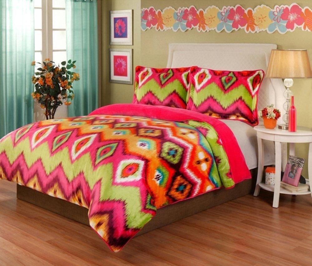 red comforter ip set homes piece ikat bedding walmart gardens better com and