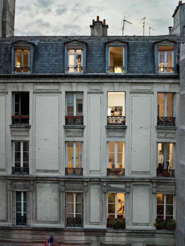 Ritratti rubati dalle finestre parigi secondo gail for Progetti architettura on line