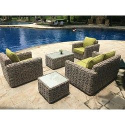 Fiji Range Manufactured To Look And Feel Like Natural Rattan Uv And Colour Stabilised For That Non Fade Quality Olefin Fibres Are Well Known For Offering The H