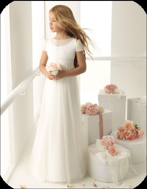 e25510791 Little Vigo White Baptism Dress