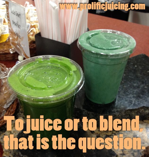 Juice or blend? Which and why? Greenterest Green Juice, Healthy - fresh blueprint cleanse questions