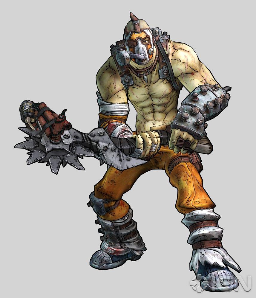 Nueva clase jugable de Borderlands 2, Bandit Psycho.
