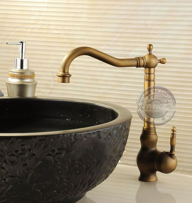bathroom faucet long neck sink basin