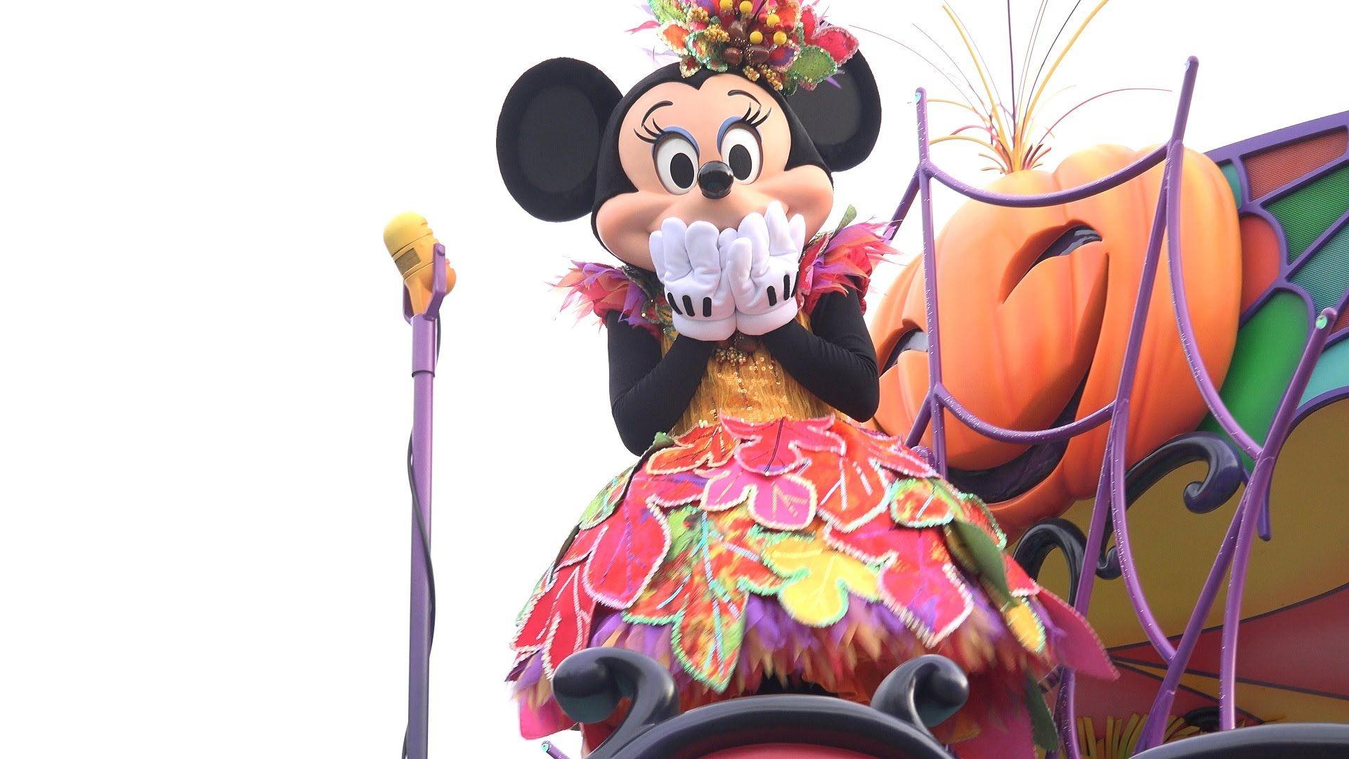 4K Happy halloween harvest Tokyo Disneyland 1st ミニポジ (con