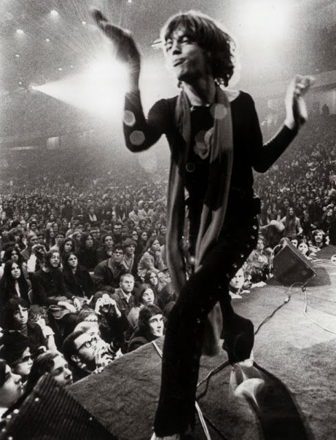 68854c392ed8 vintage everyday: The Rolling Stones at 1969 Altamont Free Concert ...