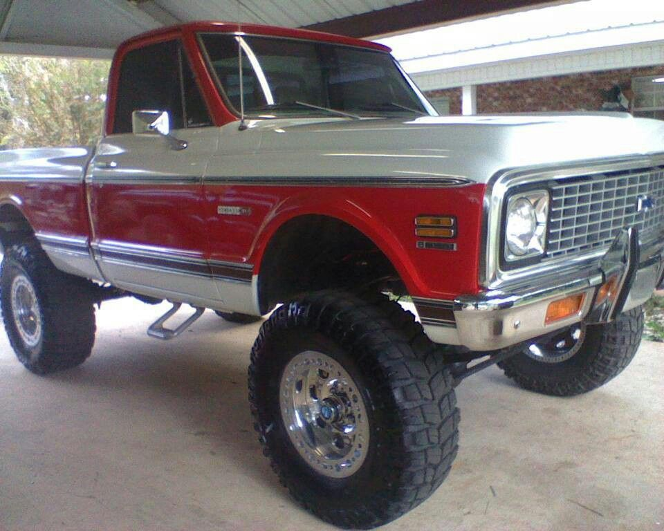 old chevy truck 67 72 chevy trucks pinterest chevy trucks and 4x4. Black Bedroom Furniture Sets. Home Design Ideas