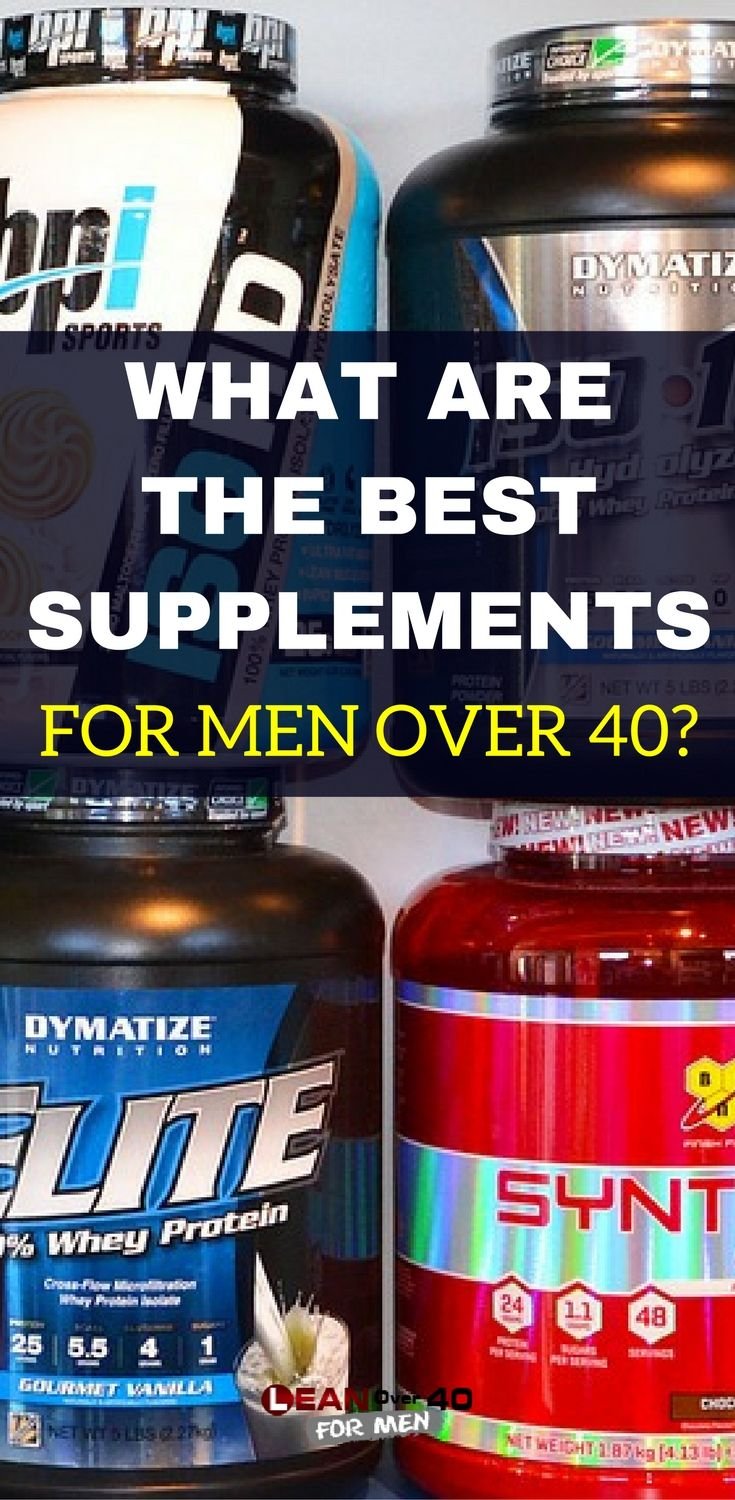 What Are The Best Supplements For Men Over 40?