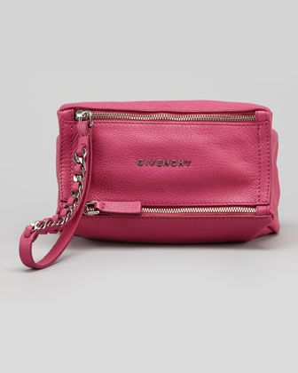 Pandora Sugar Wristlet Bag, Fuchsia by Givenchy at Bergdorf Goodman.