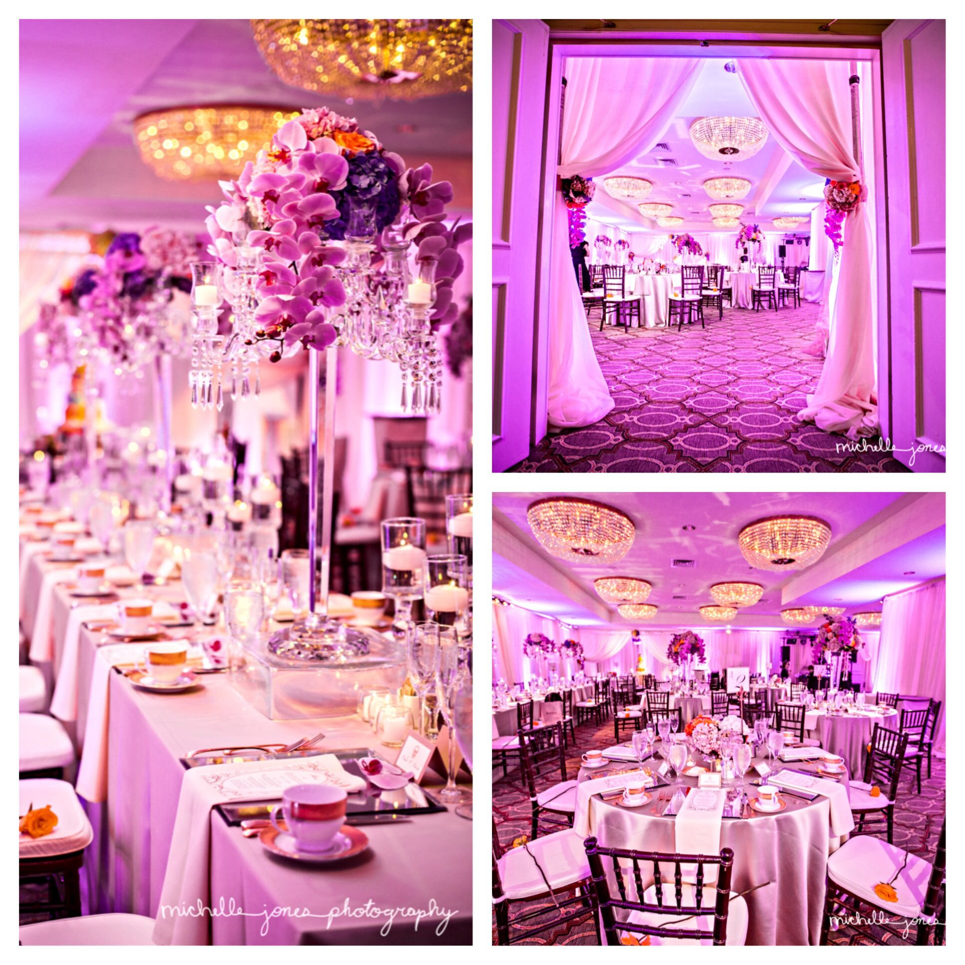 Wedding I coordinated and designed at the Omni La Mansion Del Rio ...