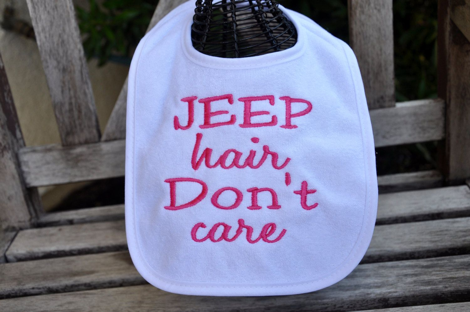 Purple Jeep Hair Don/'t Care Tote Bag