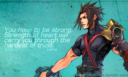Strength Of The Heart To Inspire Kingdom Hearts Kingdom Hearts