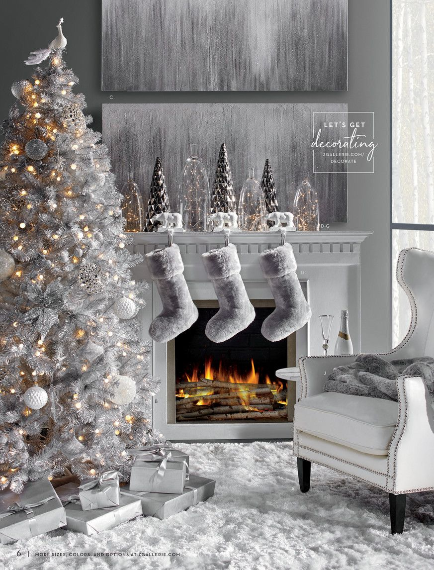 Z Gallerie Welcome Home Page 6 7 Christmas Mantel Decorations Christmas Home Christmas Decor Diy