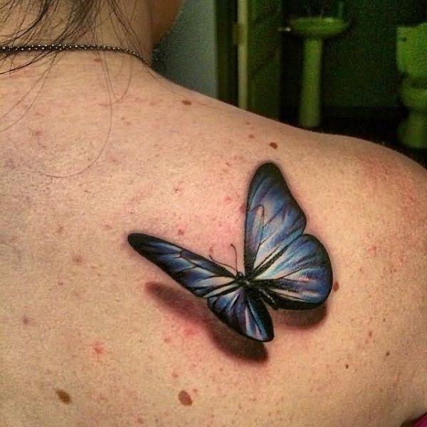 65 3d Butterfly Tattoos Tattoo Designs 3d Butterfly