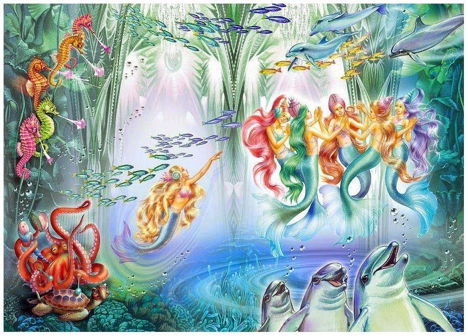 картинки подводного царства морского царя практика представляет