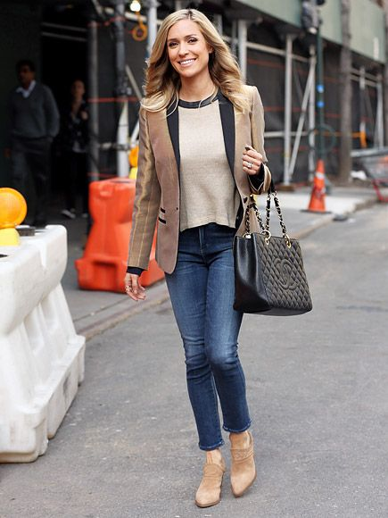 Star Tracks: Thursday, March 17, 2016 | ALL BOOKED | Hello, beautiful! Kristin Cavallari dons a camel-colored tuxedo jacket while out promoting her new book Balancing in Heels in N.Y.C. on Thursday.