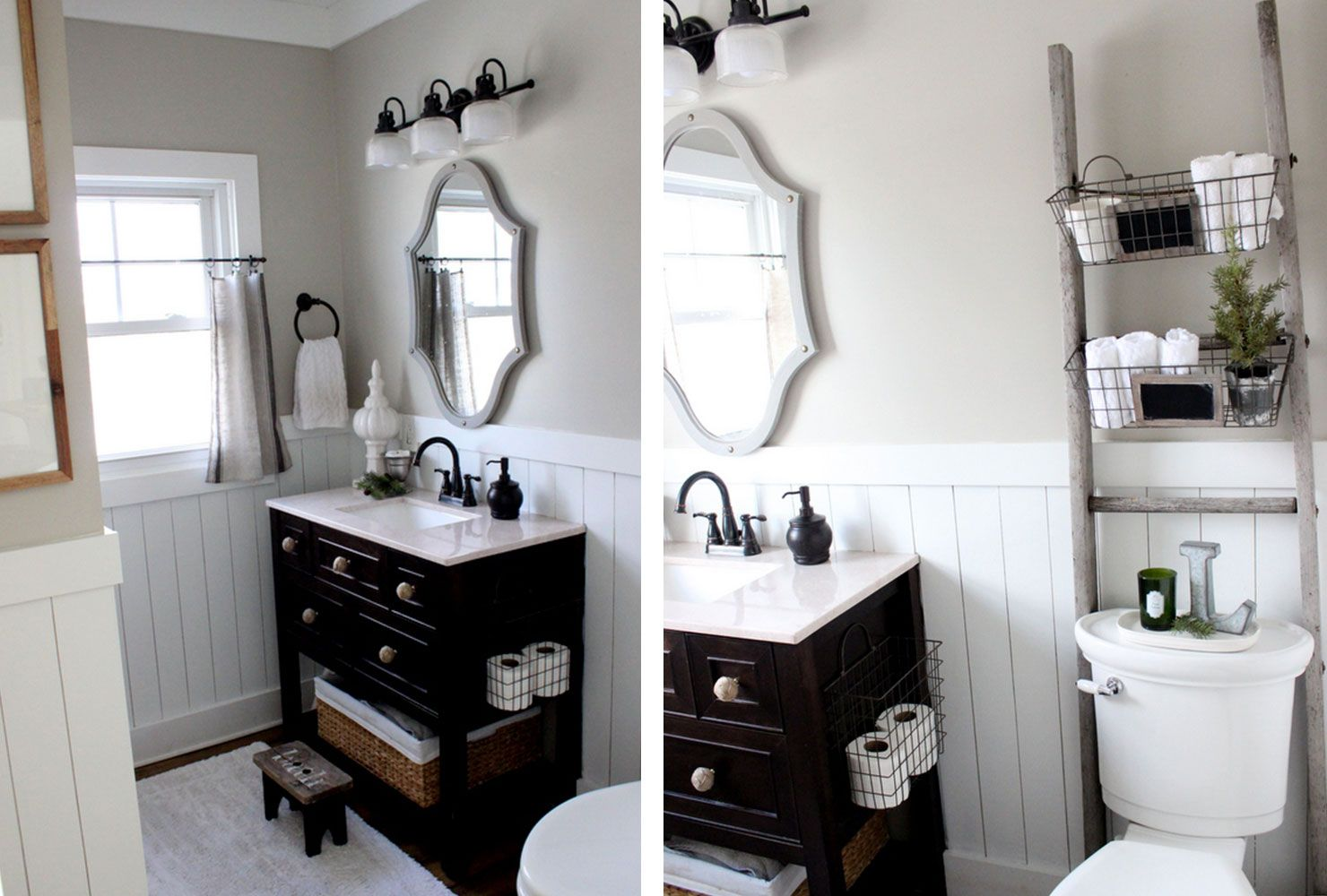 76 Ways To Decorate A Small Bathroom Shutterfly Main Bathroom Decorating Ideas Small Bathroom Vanities Bathroom Vanity Decor Small bathroom decorating ideas