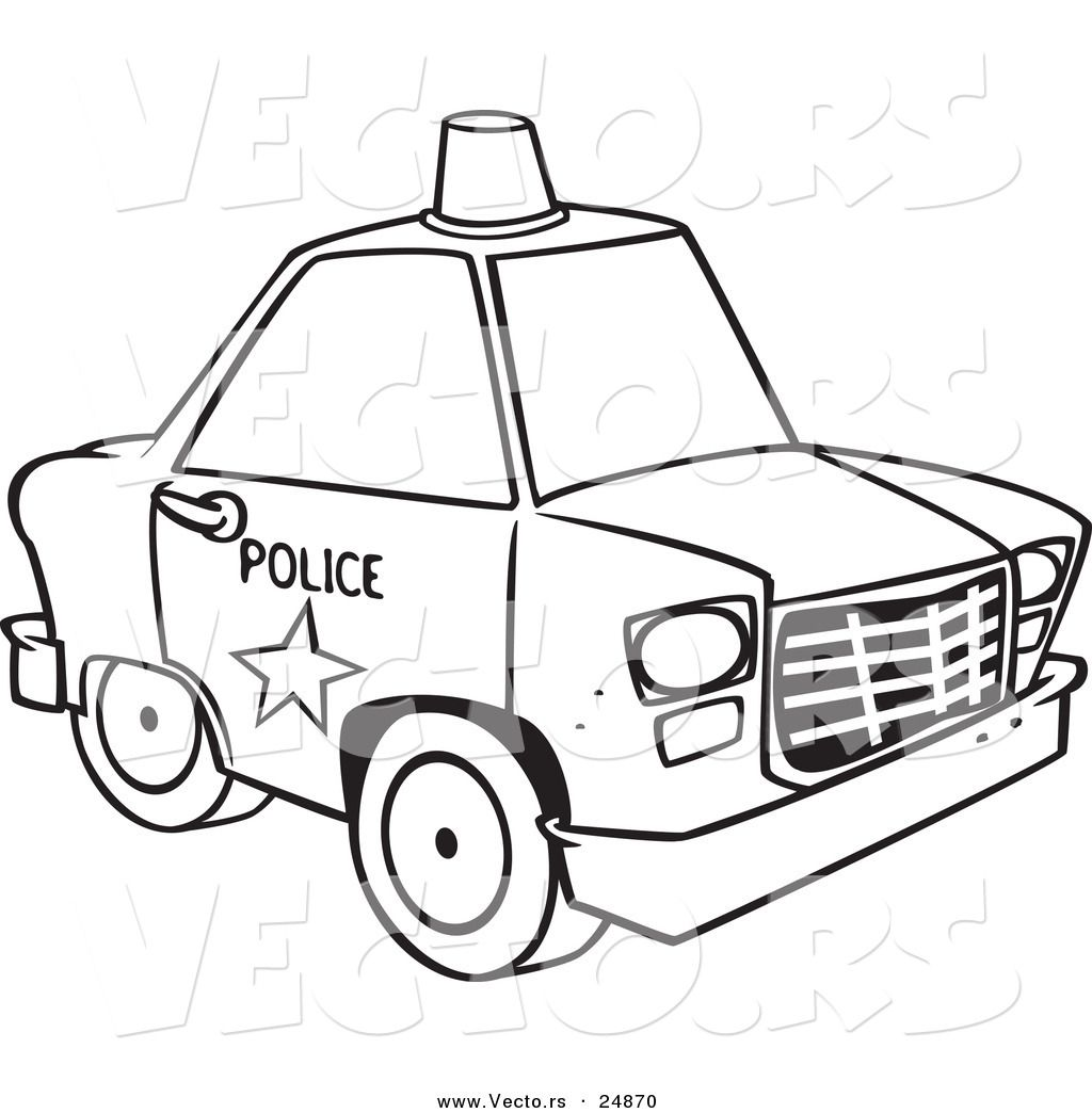 police car coloring pages printable 03   Cakes   Pinterest ...