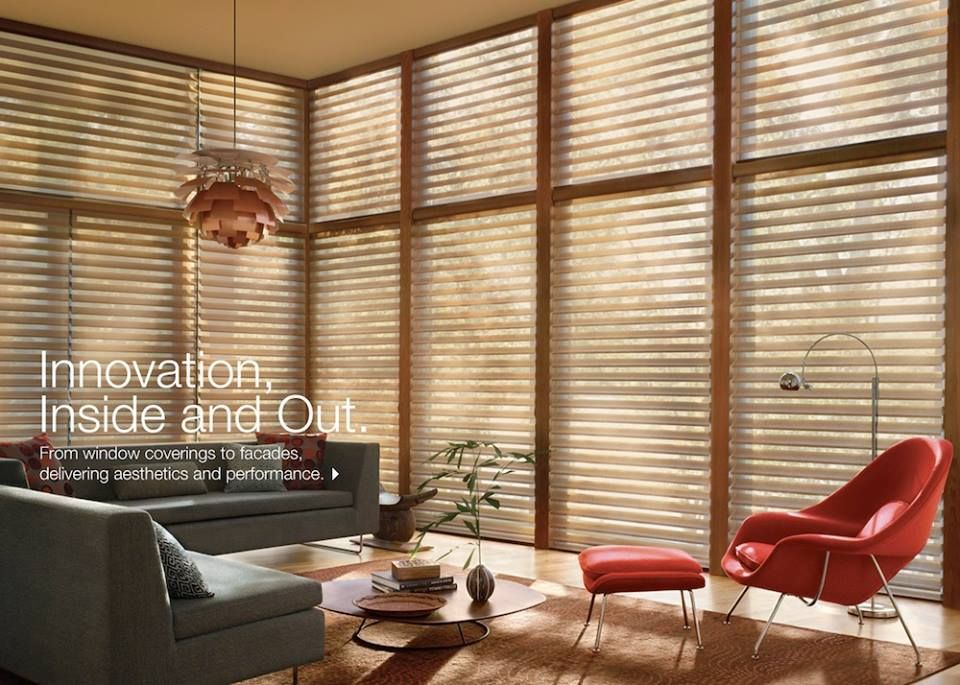 We now carry HunterDouglas Window Fashions in our store