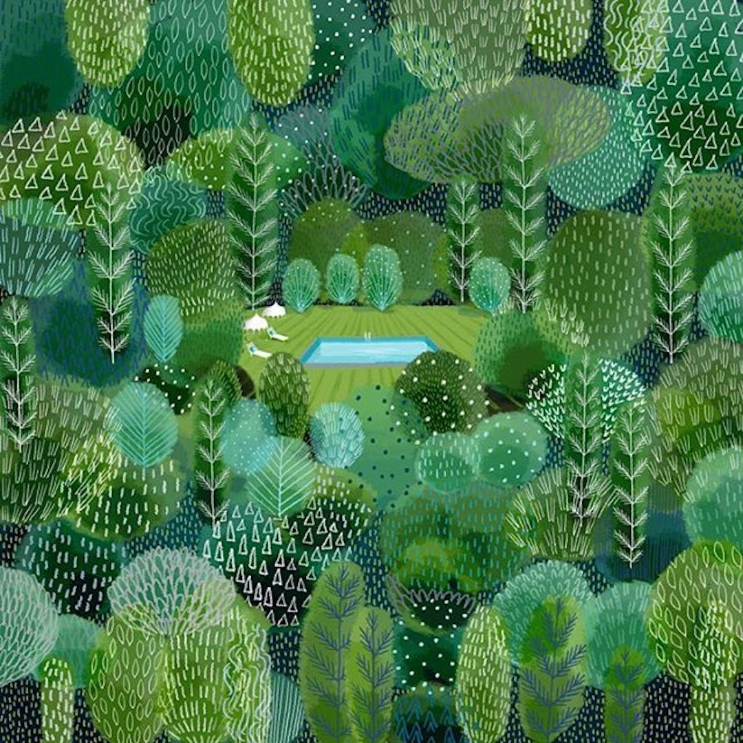Landscape Illustrations That Ll Make You Say Quot I Want To