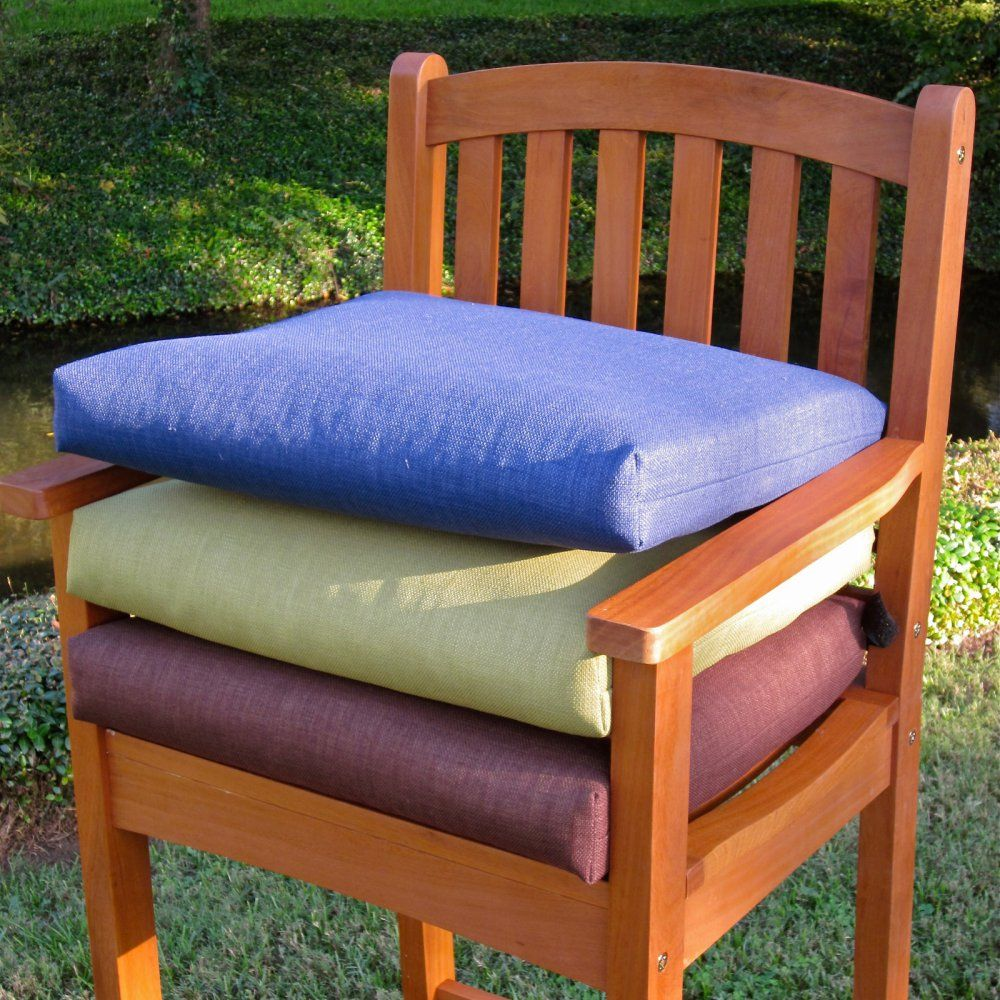 Blazing Needles 19 X 20 In Outdoor Chair Cushions Set Of 2