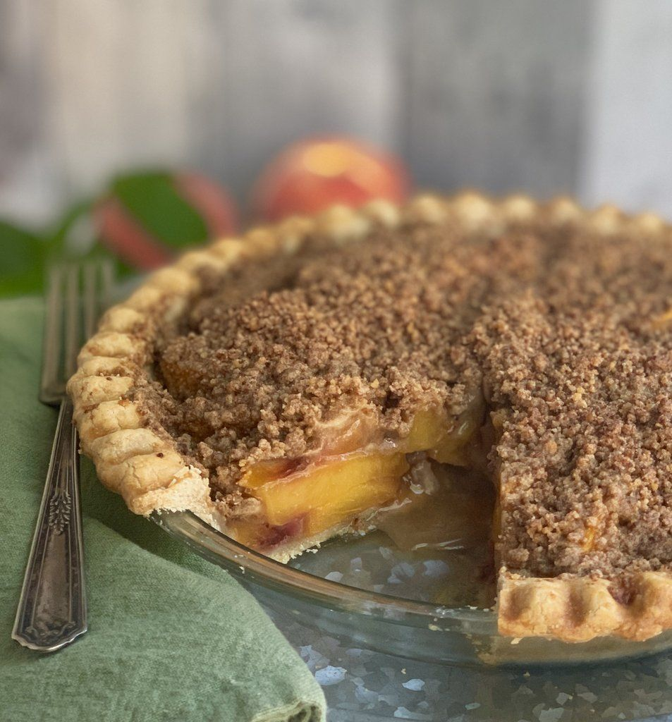 Gluten-Free Peach Pie Crumble | Recipe (With images ...