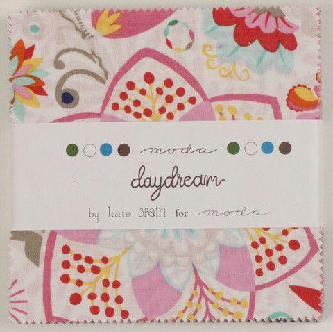 Daydream Charm Pack by Kate Spain for Moda Fabrics   Vintage Fairytale Fabrics