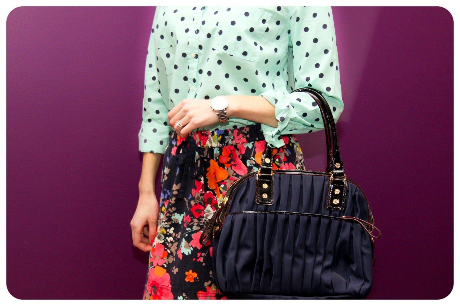 Target Polka dots, Target skirt, MZ Wallace Bea Fashion