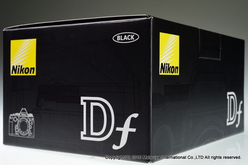 NIKON DF 16.2MP Digital Camera Body 18215 shutter Excellent+ #Nikon