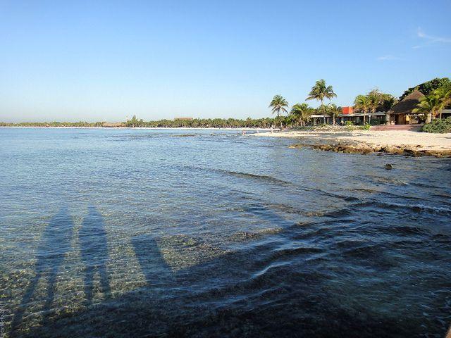 Playa del Carmen en Quintana Roo, México.