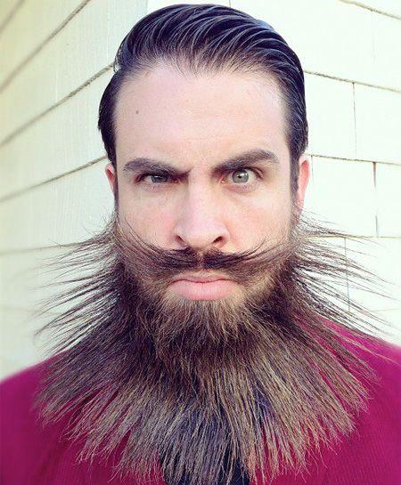 Astonishing 1000 Images About Facial Hair On Pinterest Short Hairstyles Gunalazisus