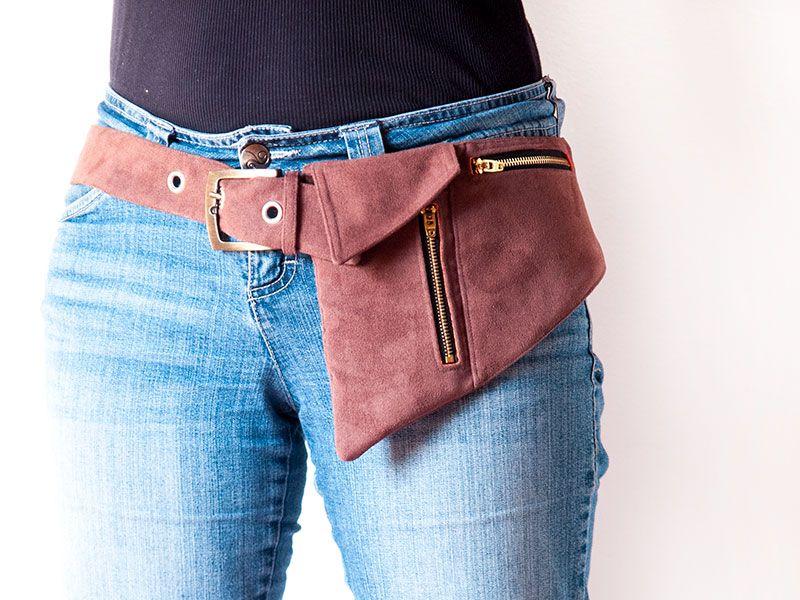 f7c395cbd815 Phone Belt Pocket Pattern or hipster bag | Leather | Hipster bag ...