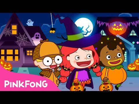 Knock Knock Trick or Treat | Halloween Songs | PINKFONG Songs for ...