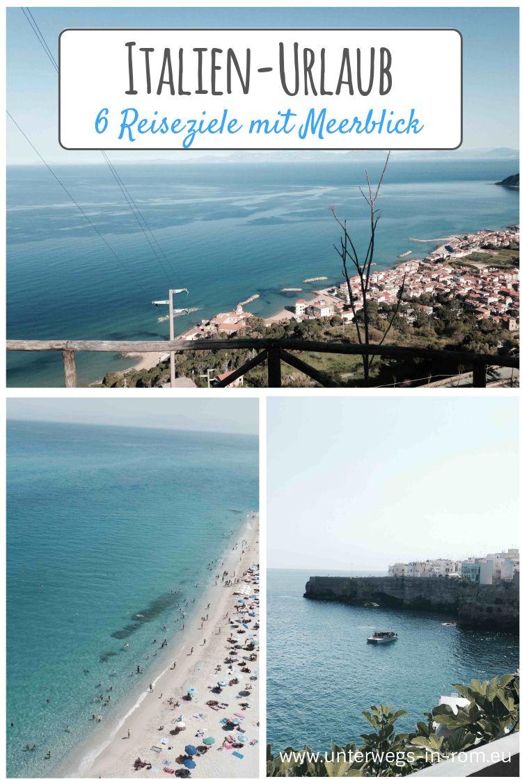 Auf Meinen Touren Kreuz Und Quer Durch Italien Habe Ich Viel Zeit Damit Verbracht Einfach Nur Aufs Meer Zu Scha Italien Urlaub Reiseziele Und Urlaub