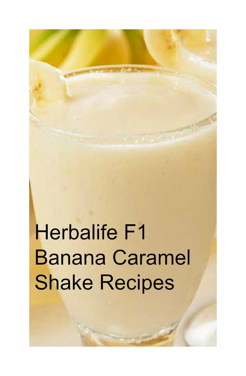 Since the release of Herbalife F1 Banana Caramel Shake Mix I have ...