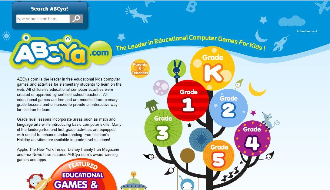 http://www.abcya.com/ | Online Education | Pinterest | Educational ...