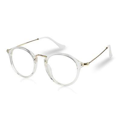 Photo of Anti Blue Ray Frauen Computer Brille Für Männer Transparente Brillen Runde Mode Brillengestell Oculos De Grau Weibliche Beschichtung