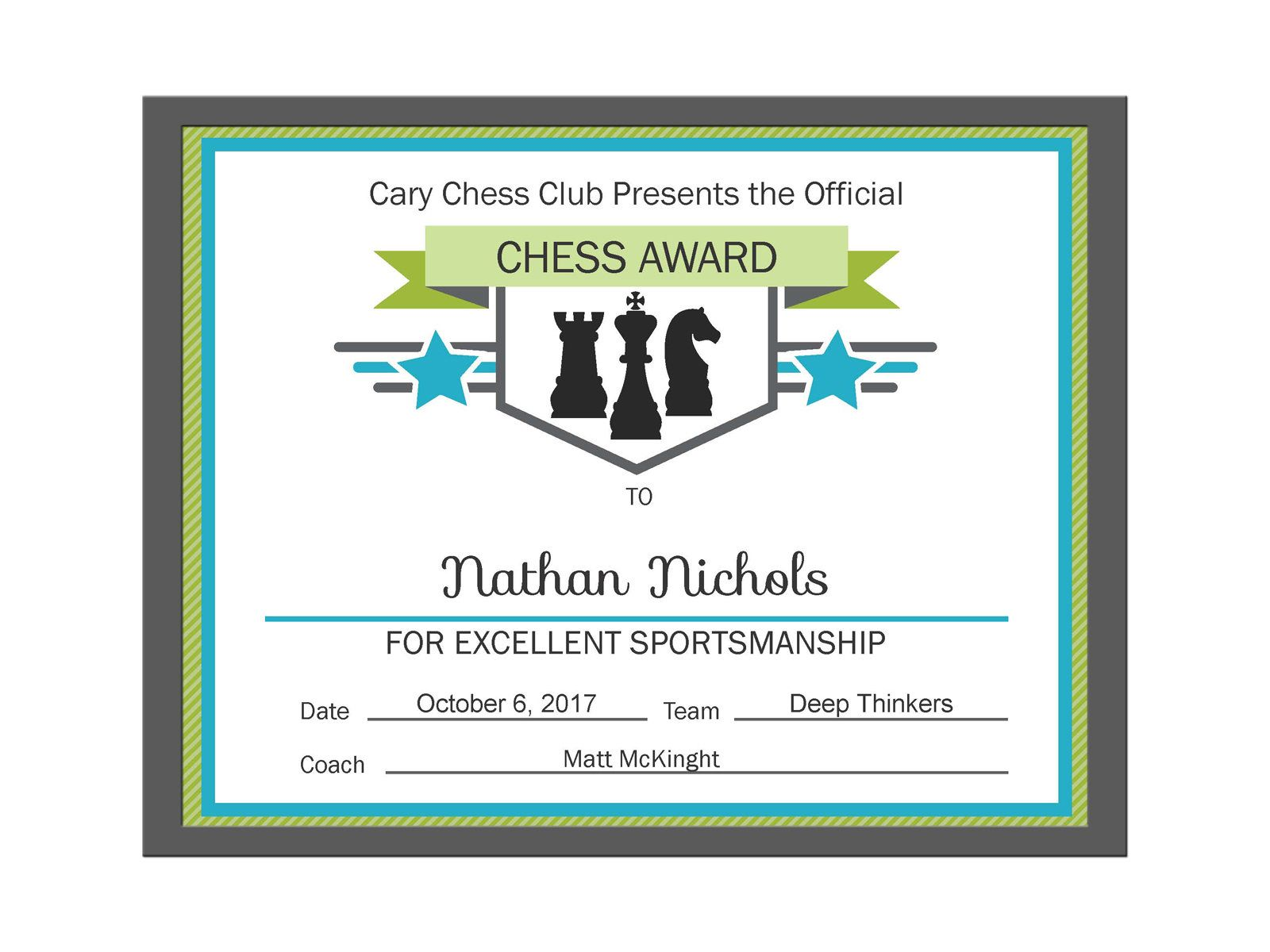 Editable pdf sports game team chess certificate award template in 3 editable pdf sports game team chess certificate award template in 3 colors pink blue and yelopaper Images