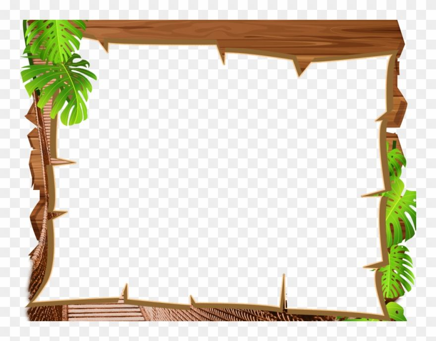 Download hd Download Frame Jungle Clipart Picture Frames