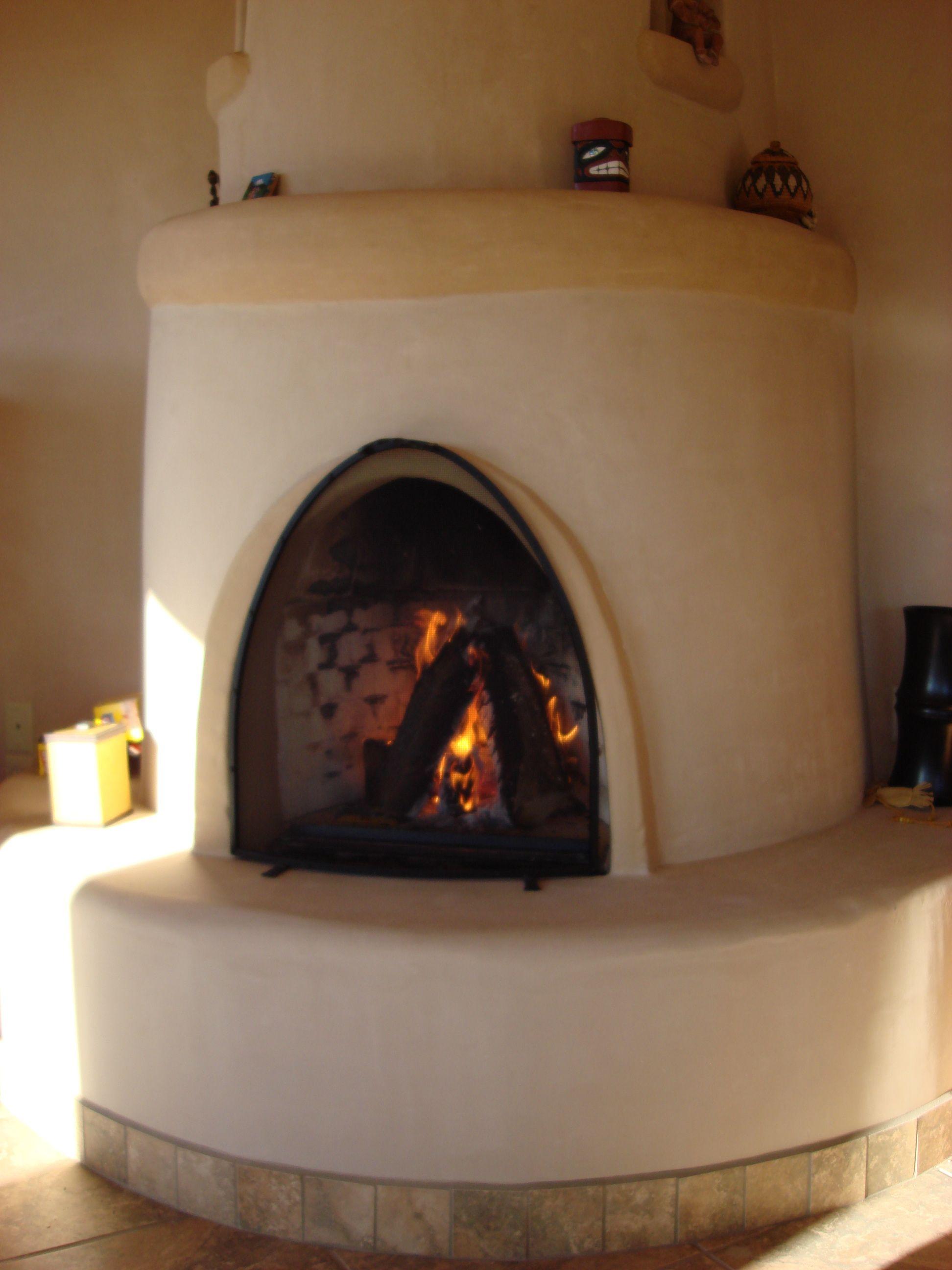 Kiva Fireplace Fireplace Fireplace Design Southwestern Home