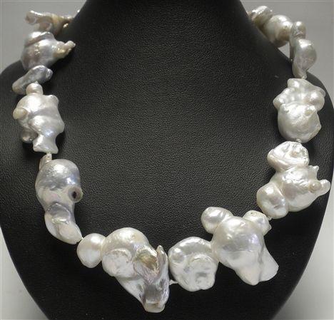 Perla barroca, plata de ley 925. www.aladeplata.com.