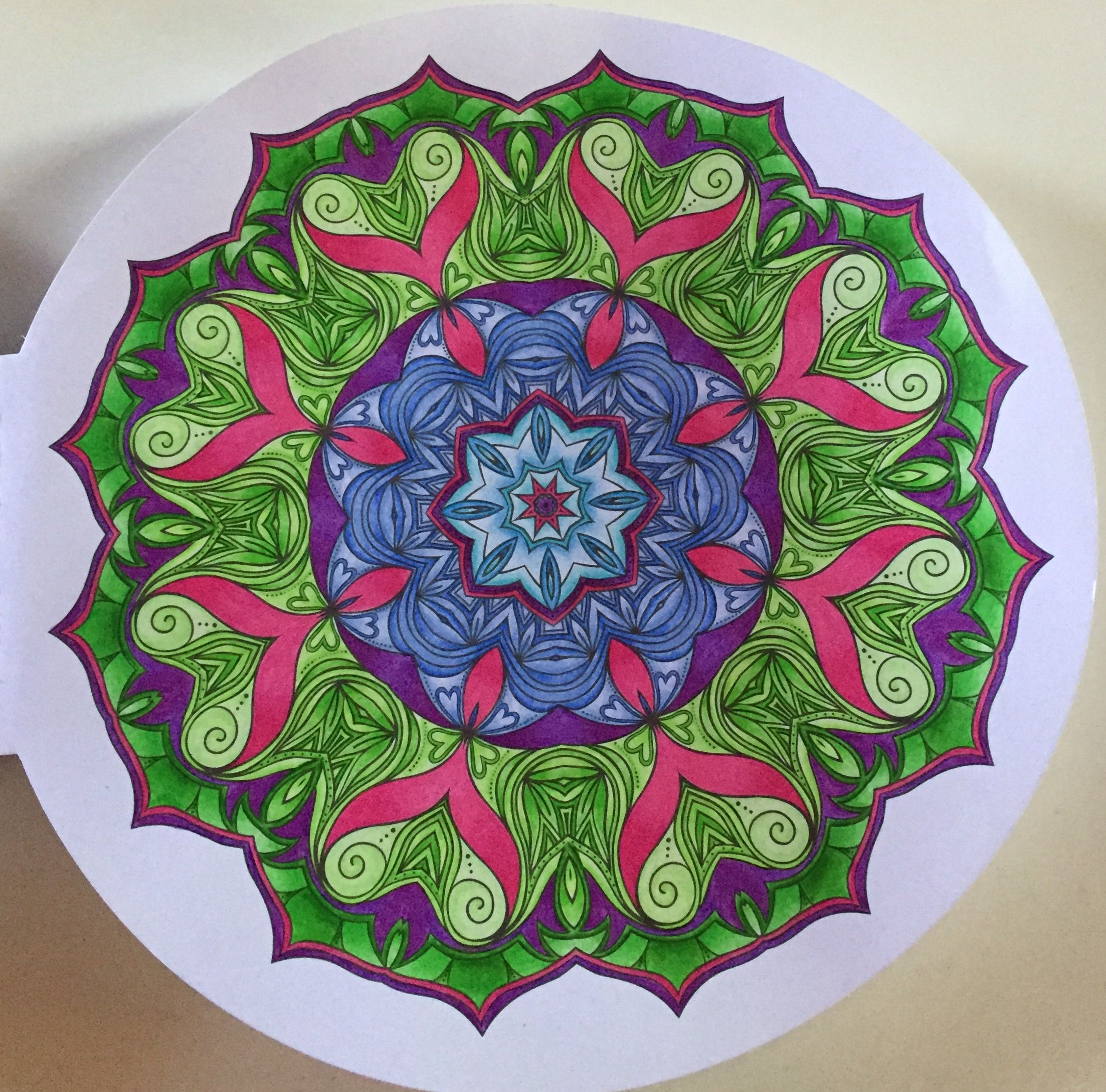 Uit 100 creaties Mandala Limited Edition.